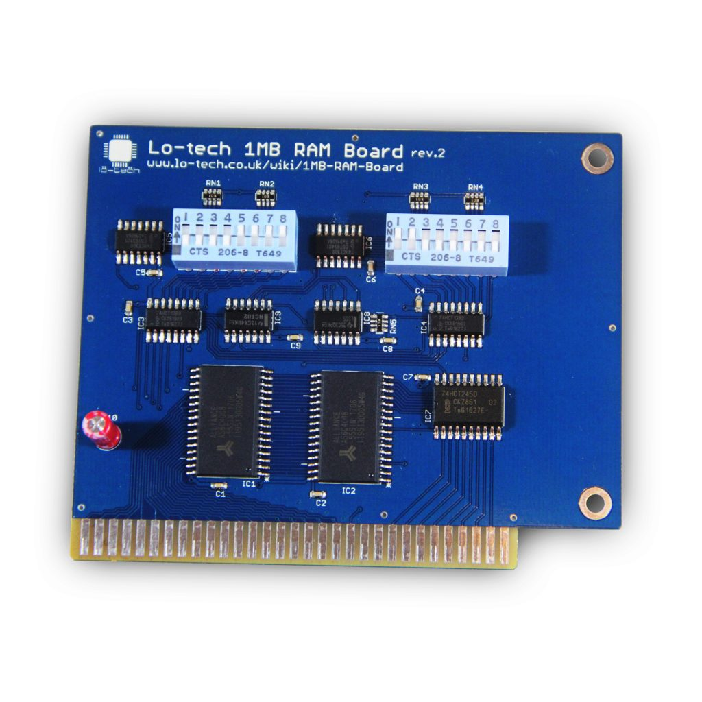 Lo-tech 1MB RAM