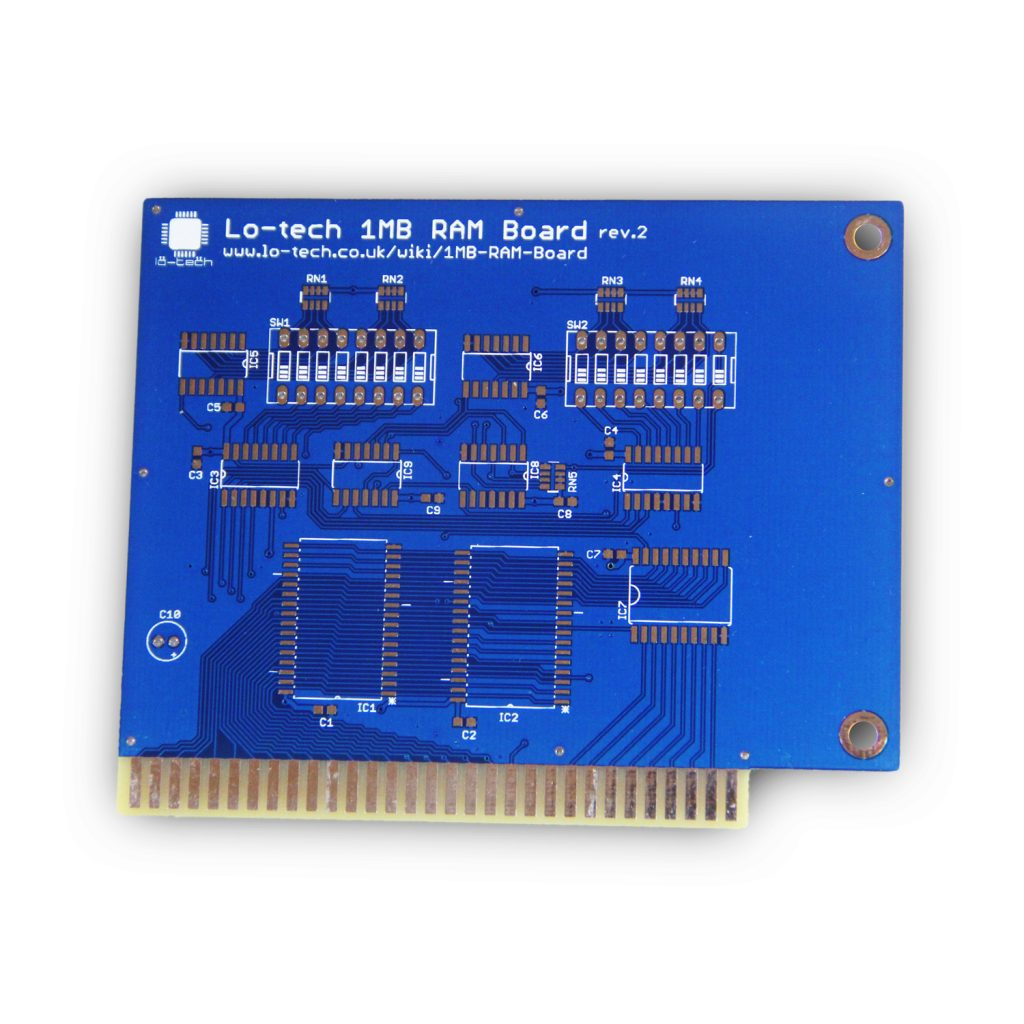 Lo-tech 1MB RAM (PCB Only)