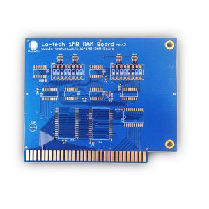 Lo-tech-PCB-1MB-RAM-GOLD-Front