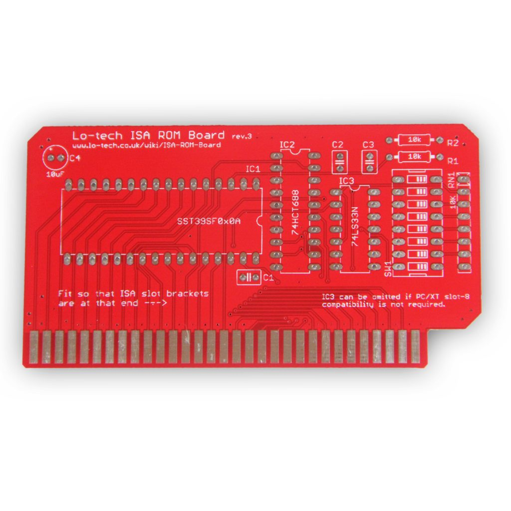 Lo-tech ISA ROM (PCB Only)