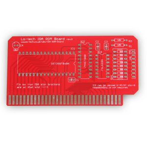 Lo-tech-PCB-ISA-ROM-Front